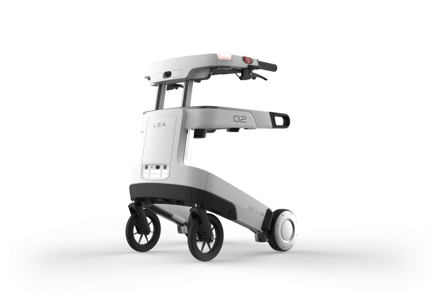 Langer zelfstandig (lopen) met zorgrobot Lea-img