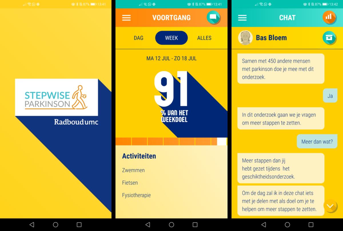 STEPWISE: Een app om meer te bewegen-img